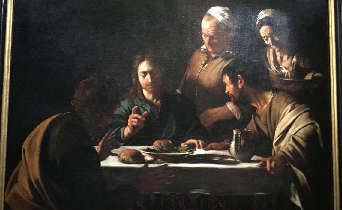 """""""Caravage à Rome, amis & ennemis au musée Jacquemart-André"""